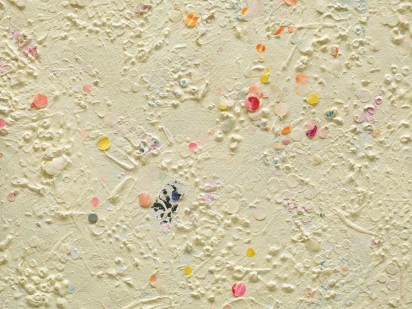Howardena Pindell, Untitled #18 (detail), 1977. ©HOWARDENA PINDELL/COURTESY GARTH GREENAN GALLERY, NEW YORK