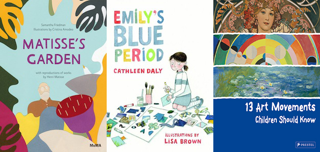 9 awesome new art books for kids artnews