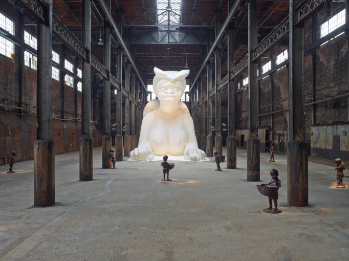 Kara Walker's Sugar Sphinx Draws 130K
