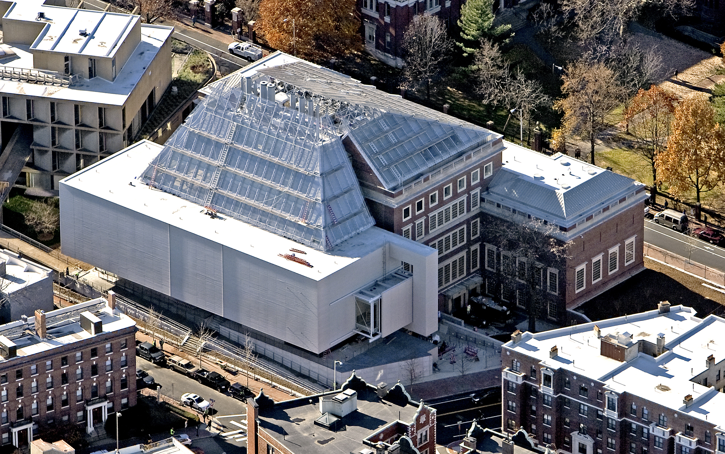 The Harvard Art Museums During Renovation And Expansion November 21 2013LESVANTSCOM