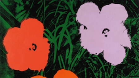 London Auction Preview: 'Flowers' Andy Warhol