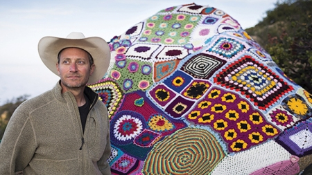 Hedge Funder-Turned-Crocheter 'Yarnbombs' the Country's Wilderness