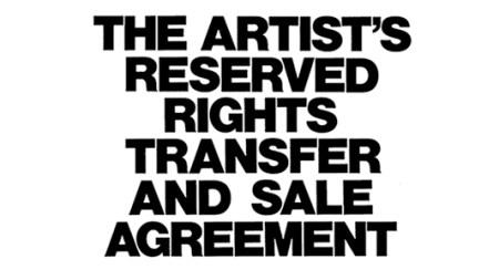 Essex Street Presents Siegelaub's 'Artist's Contract'
