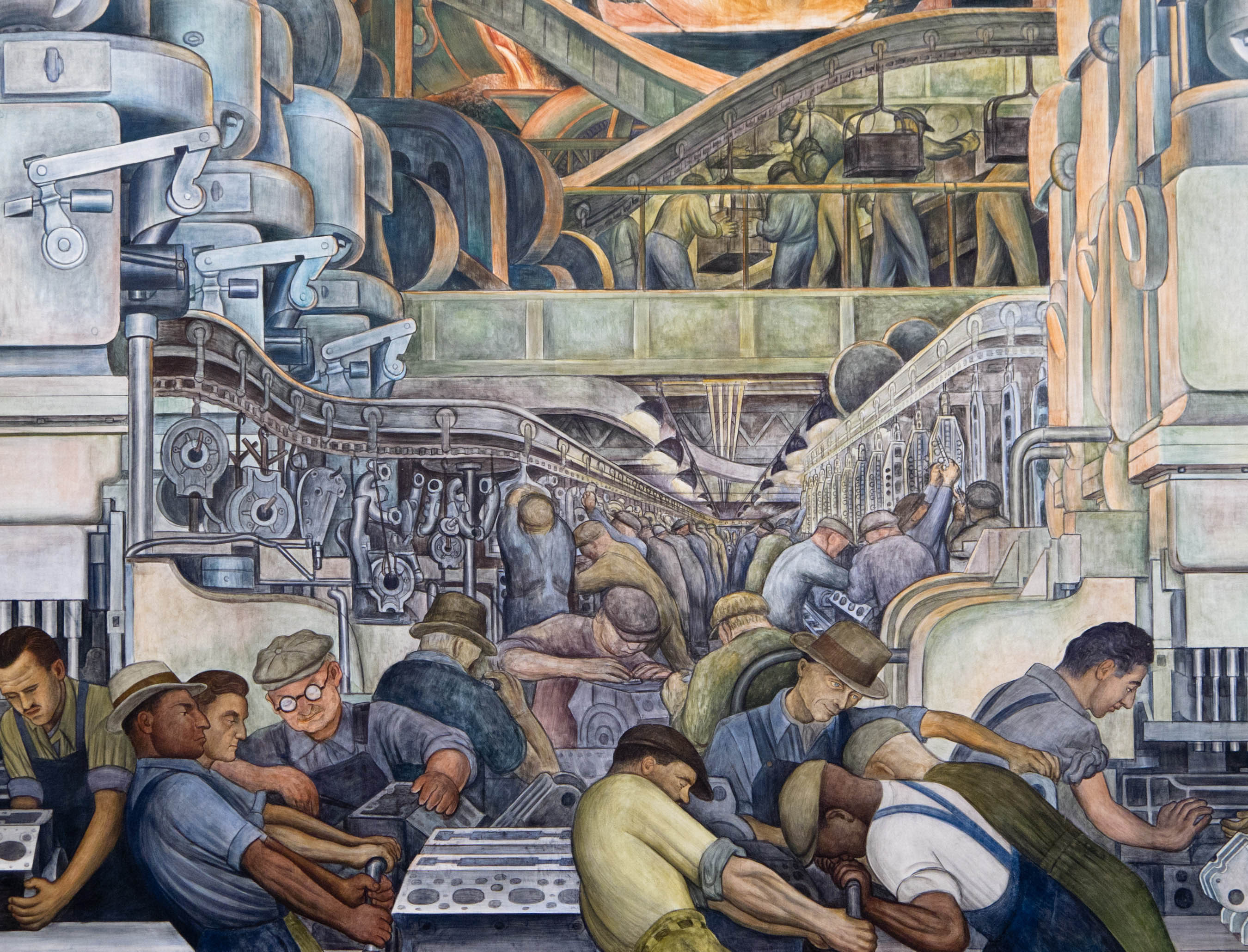 foto de Frida Kahlo and Diego Rivera's Detroit Year Explored in DIA Show ...