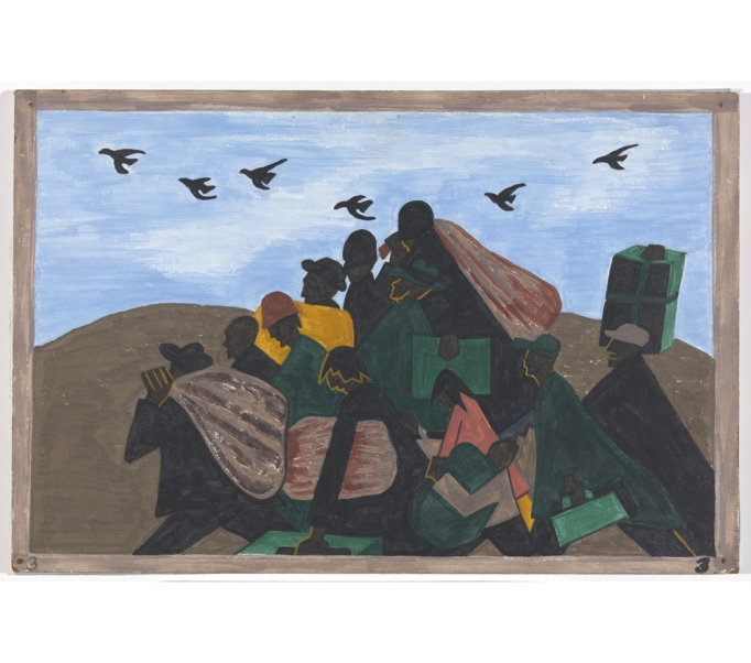 """One Way Ticket: Jacob Lawrence's Migration"