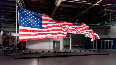 William Pope.L Flag Makes Appearance Kendrick
