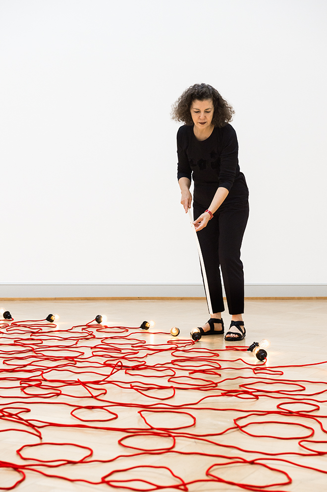 Making The Ordinary Anything But Mona Hatoum On Her
