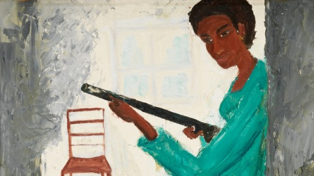 Here's Work That Maya Angelou Painted