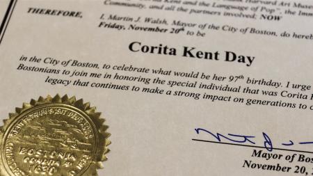 Boston Mayor Declares November 20, 2015,