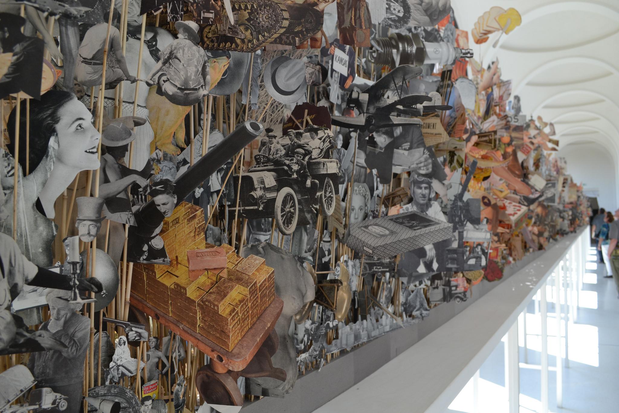 Geoffrey farmer will represent canada at the 2017 venice for Apertura biennale arte 2017