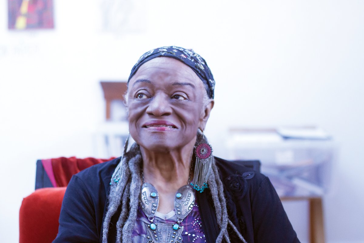 Faith Ringgold photographed in New Jersey on November 23 61f4e27d0