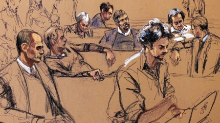 Trial & Image: Courtroom Artists Capture