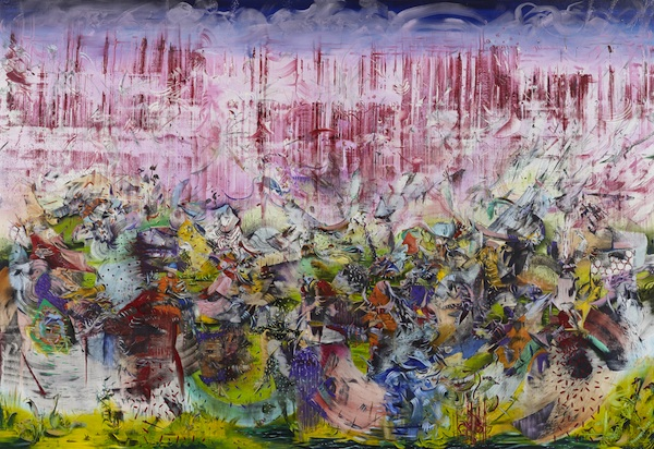 Ali Banisadr Motherboard, 2013oil on linen82 x 120 inches