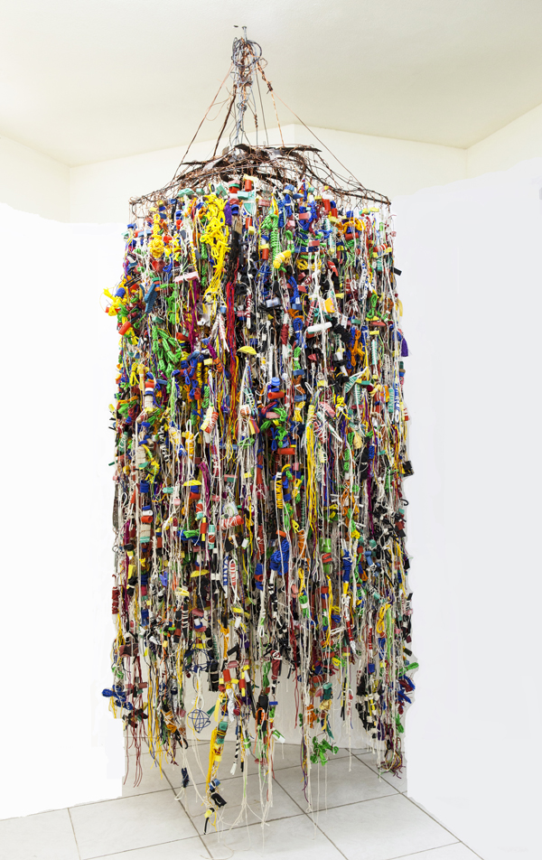 Hassan Sharif, Suspended Objects, 2011, Mixed media. COURTESY THE ARTIST AND GALLERY ISABELLE VAN DEN EYNDE, DUBAI