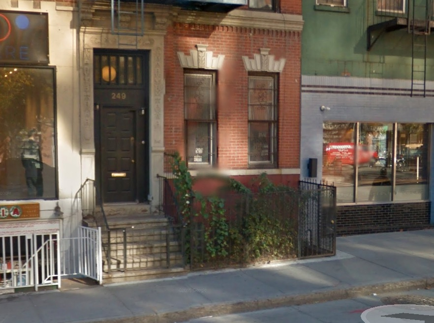 The future home of Chapter NY: 249 East Houston.GOOGLE MAPS