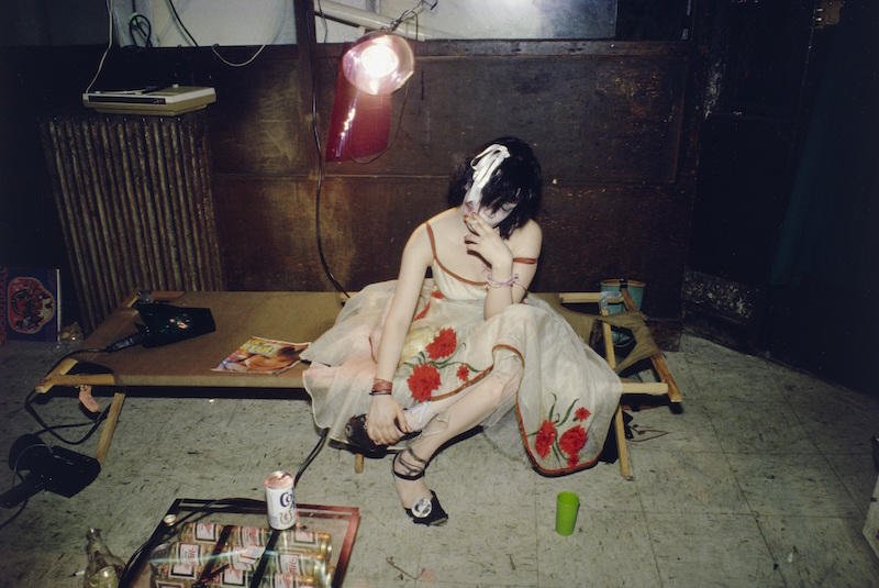 Nan Goldin, Trixie on the Cot, New York City. 1979, silver dye bleach print, printed 2008.