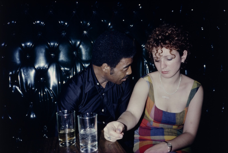 Nan Goldin (American, born 1953). Buzz and Nan at the Afterhours, New York City. 1980, cilver dye bleach print, printed 2008.