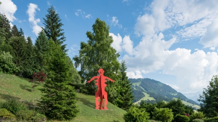 'Calder the Alps' Various Venues, Gstaad,