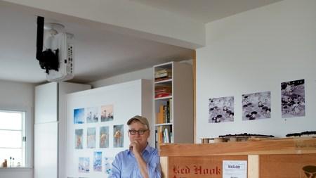 the Studio: Donald Moffett