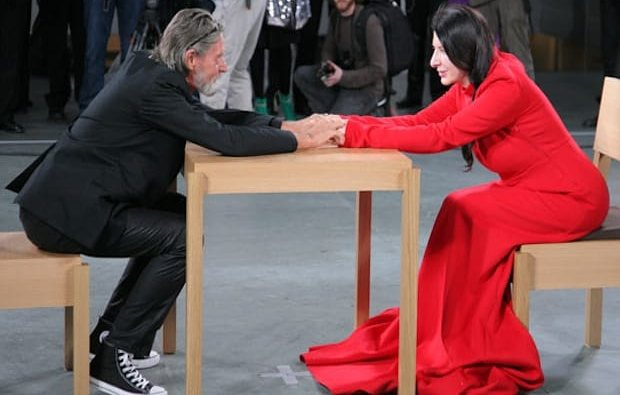 Morning links marina abramovic and ulay trial recap edition artnews abramovi and ulay during abramovis the artist is present performance at moma youtube thecheapjerseys Image collections