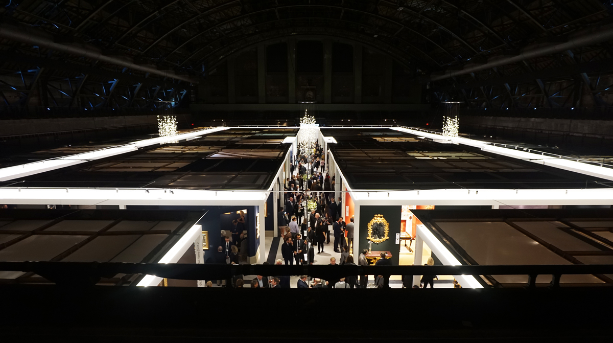 A view from above at TEFAF New York. MAXIMILÍANO DURÓN/ARTNEWS