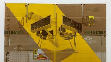 Inside, Outside, Upside Down: Architect-Artist Duo