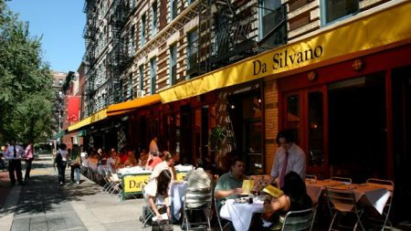 Da Silvano, Legendary New York Art