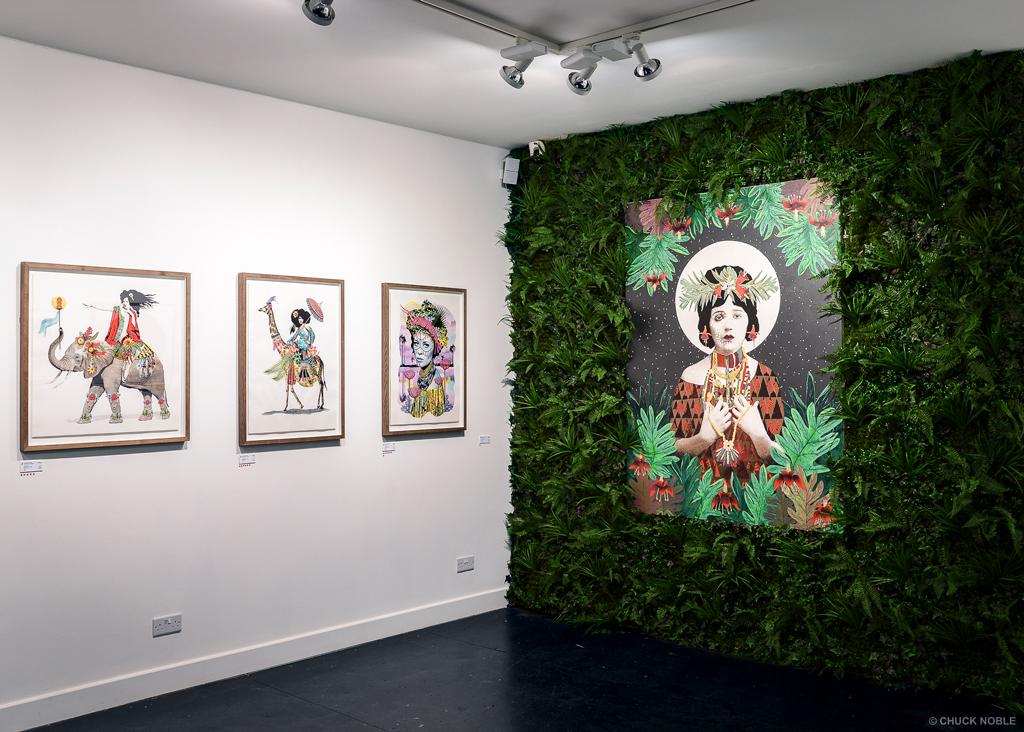 johnathan reiner at hang up gallery london artnews