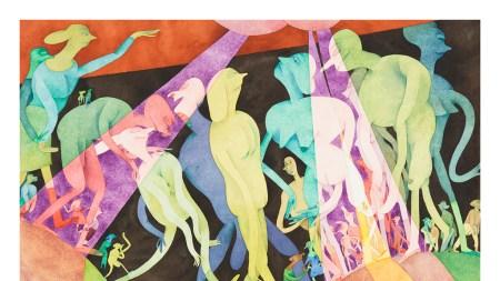 Gladys Nilsson Garth Greenan Gallery, New