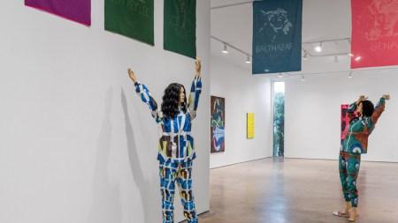 Cheryl Donegan David Shelton Gallery, Houston