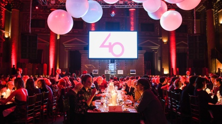 the Drawing Center's 40th Anniversary Gala,