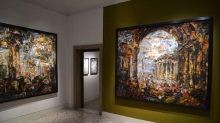 Palazzo Cini, Vik Muniz Pieces Together