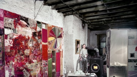 From the Archives: Robert Rauschenberg Paints