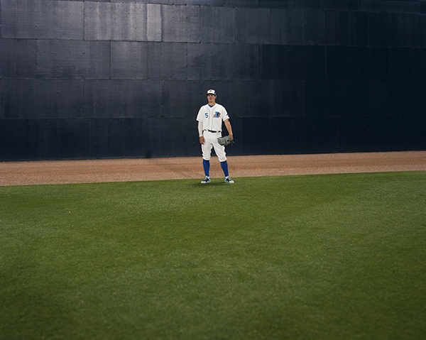 Alec Soth, Center Field #22013.©ALEC SOTH/FROM  BULL CITY SUMMER, PUBLISHED BY DAYLIGHT BOOKS.