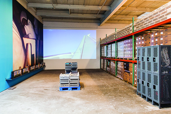 A Mercantile Novel, installation view, 2014. SCOTT RUDD/COURTESY DAVID ZWIRNER, NEW YORK AND LONDON