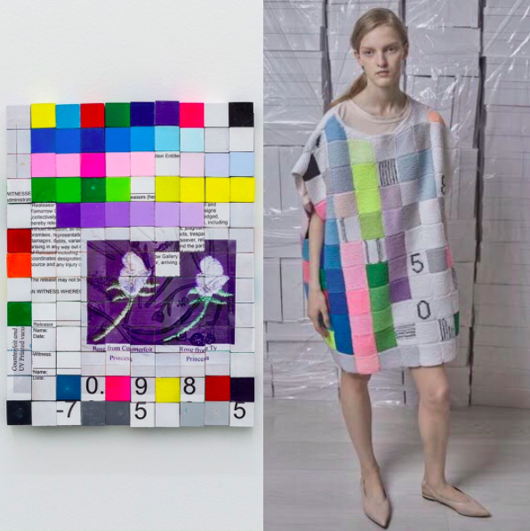 You Directly Copied The Series Brad Troemel Accuses Fashion Designer Of Ripping Off His Grid Work For Ready To Wear Collection Artnews Com