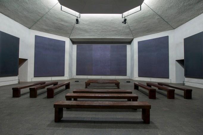 The Rothko Chapel.