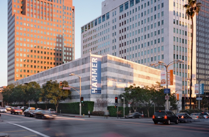 Exterior view of the Hammer Museum