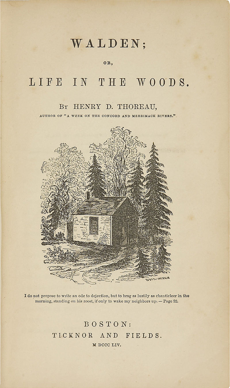 On Your Mark Get Set Read Marathon Readings Of Thoreau