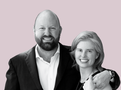 Laura Arrillaga-Andreessen and Marc Andreessen