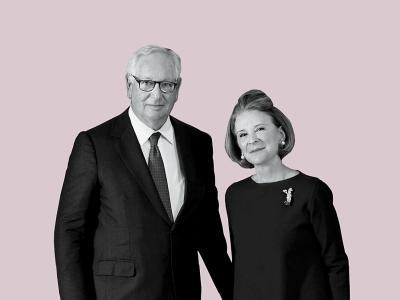 Estrellita and Daniel Brodsky