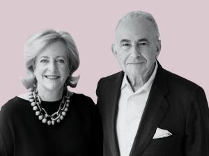 Patricia Phelps de Cisneros and Gustavo