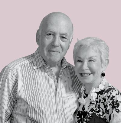 Susan and Leonard Feinstein
