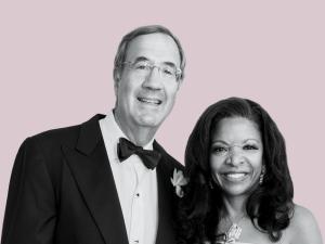Pamela J. Joyner and Alfred J.