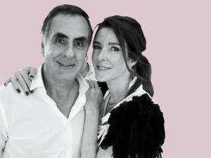 Patricia Pearson-Vergez and Juan Vergez