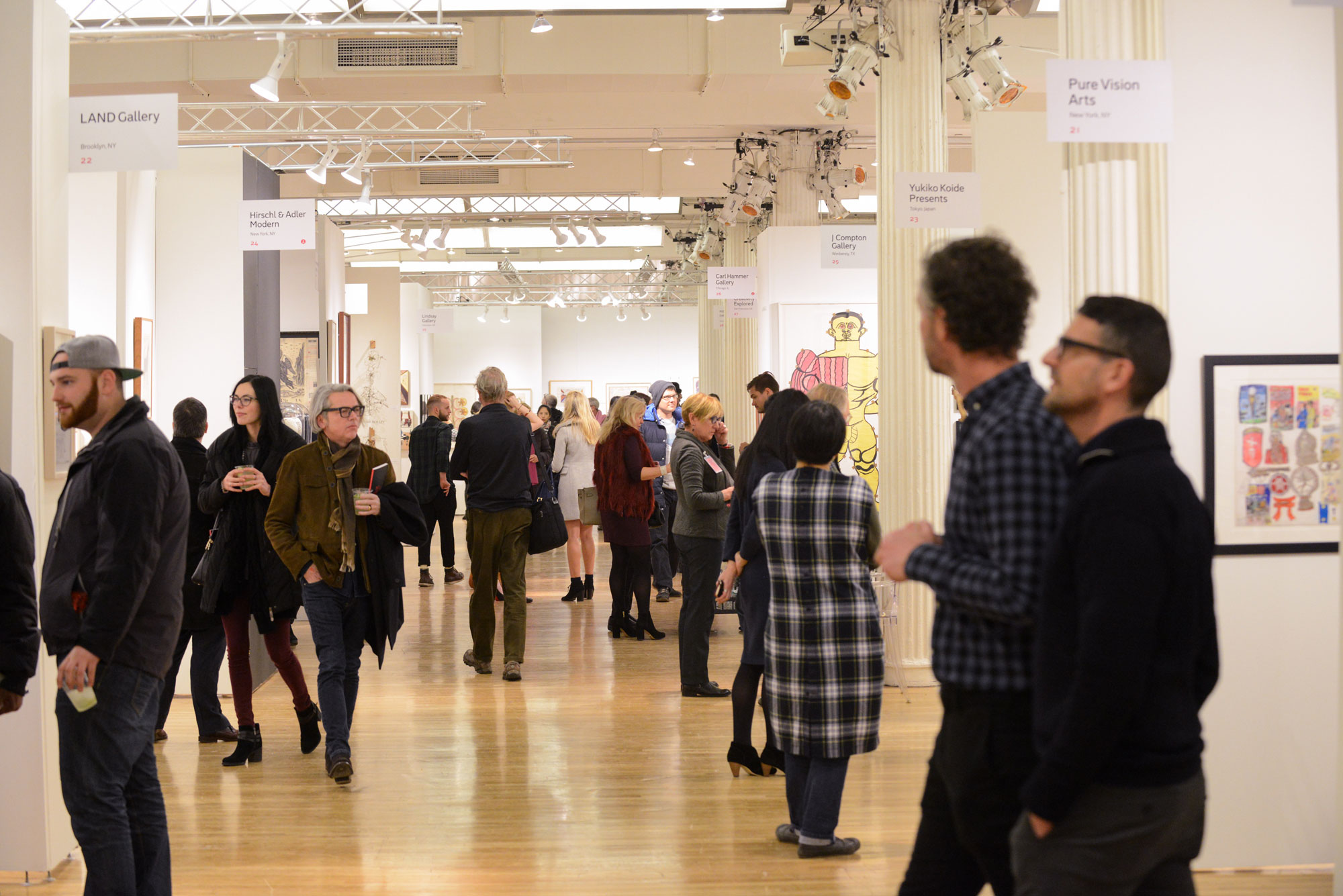 Here 39 s the exhibitor list for the outsider art fair 39 s 2018 for Craft fair nyc 2017