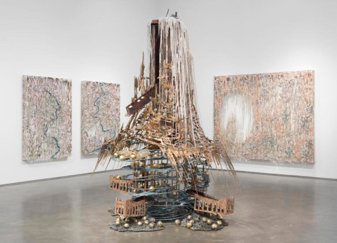 Review: Diana Al-Hadid at Marianne Boesky