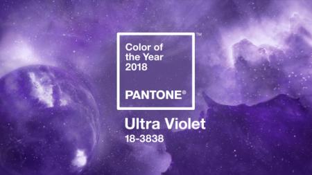 Ultraviolet Named Pantone's 2018 Color of