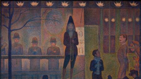George Seurat's Circus Sideshow