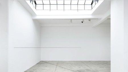 Fred Sandback Cardi Gallery, Milan